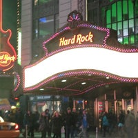 Photo taken at Hard Rock Cafe New York by Beth 3. on 2/25/2013