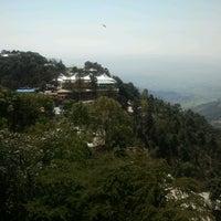 Photo taken at Dalai Lama Temple   दलाई लामा मंदिर by Anastasiya on 3/5/2013