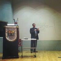 Photo taken at Auditorio Milton Friedman UFM by @manuelpm M. on 1/31/2014