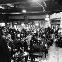 Photo taken at Red Emma's Bookstore Coffeehouse by Benjamin J. on 2/29/2016