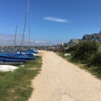 Photo taken at Hengistbury Head by Paul H. on 6/10/2017