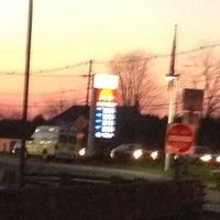 Photo taken at Mobil by Karen G. on 12/14/2012