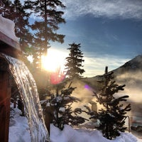 รูปภาพถ่ายที่ Scandinave Spa Whistler โดย Justin Y. เมื่อ 1/18/2013