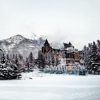 Photo taken at The Fairmont Banff Springs Hotel by Justin Y. on 10/23/2012