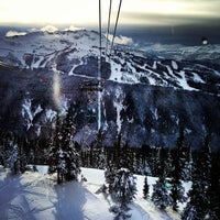 Photo taken at PEAK 2 PEAK Gondola by Justin Y. on 12/8/2012