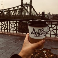 Photo taken at Amber's French Bakery & Cafe by Derya Y. on 10/21/2017