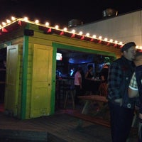Photo taken at Pachinko Hut (Behind The Continental Club) by Bonnie K. on 3/2/2013