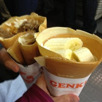 Photo taken at Genki Crepes by Eula H. on 2/18/2013