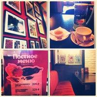 Снимок сделан в Traveler's Coffee пользователем Dasha 4/14/2013