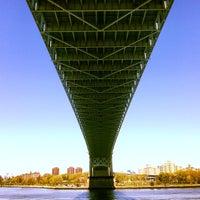 Photo taken at Robert F. Kennedy Bridge (Triborough Bridge) by Robertstrvltips on 5/4/2013