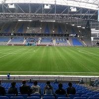 Photo taken at Astana Arena by Anuar K. on 5/1/2013
