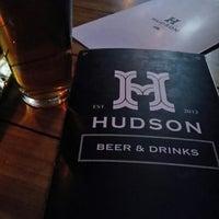 Photo taken at Hudson Bar by Metzli B. on 5/14/2014