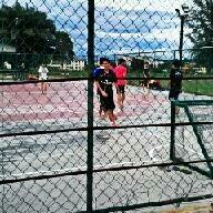 Photo taken at Futsal Coart Blok 16 by Sadlee N. on 12/25/2012