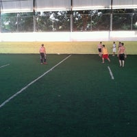 Photo taken at Hamilka Arena Soccer by Philippe O. on 11/24/2012