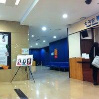 Photo taken at 충무아트센터 소극장블루 by 주희 정. on 12/19/2012