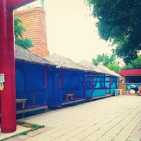 Photo taken at Национальная деревня by Anastasia B. on 8/31/2014
