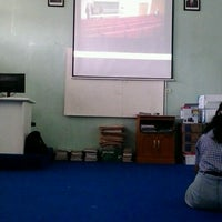 Photo taken at SMA Negeri 4 Magelang by Intan D. on 2/23/2013