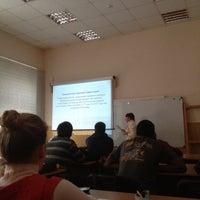 Photo taken at 6 корпус by Евгений Ж. on 11/27/2012