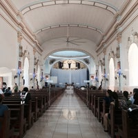 Photo taken at Immaculate Conception Parish Church by Paula B. on 4/13/2017