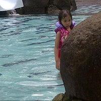 Photo taken at Melia Purosani Swimming Pool by Djoko W. on 6/26/2014