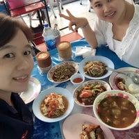 Photo taken at ร้านส้มตำเกษร by Sweetie N. on 10/1/2015