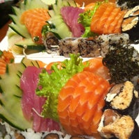 Photo taken at Zeni Sushi by Rosi G. on 11/21/2012
