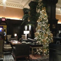 Photo taken at The Algonquin Hotel Times Square, Autograph Collection by Bonnie L. on 12/31/2012