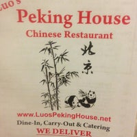 Photo taken at Luo's Peking House Chinese Restaurant by Lisa A. on 1/16/2013