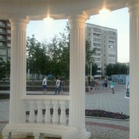 Photo taken at Аллея на кск by Юлия Р. on 6/18/2013