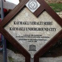 3/28/2013 tarihinde ttocS e.ziyaretçi tarafından Kaymaklı Yeraltı Şehri'de çekilen fotoğraf