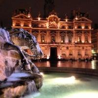 Photo taken at Place des Terreaux by Jeff l. on 2/12/2013