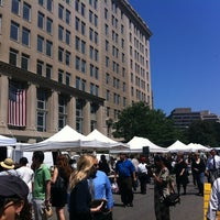 Photo taken at FRESHFARM Market by the White House by Elayne B. on 7/25/2013