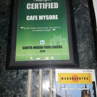 Photo taken at Café Mysore by Sai K. on 2/18/2013