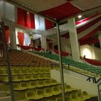 Photo taken at Stadion Datu Adil by Hudha I. on 8/14/2014