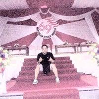 Photo taken at Stadion Datu Adil by Hudha I. on 8/17/2014