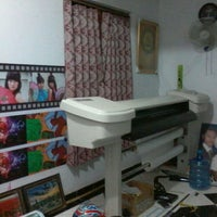Photo taken at Miky Digital Printing by Hudha I. on 12/3/2013