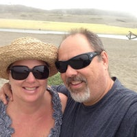 Photo taken at San Simeon Creek Campground by Terri G. on 8/15/2013