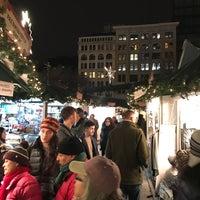 Photo taken at Union Square Holiday Market by Karen K. on 12/24/2016