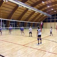 Photo taken at Polisportiva by federico g. on 1/11/2014