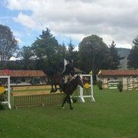 Photo taken at Equitación Club El Rancho by Armando A. on 12/9/2012