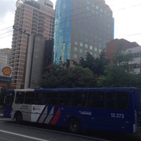 Photo taken at Av Paulista 1345 by Diana P. on 5/12/2014