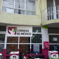 Photo taken at Correos de México by Jesus M. on 1/17/2013