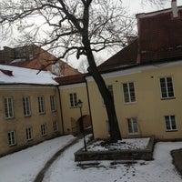Photo taken at Vilniaus universiteto Filologijos fakultetas by Karilė A. on 4/3/2013