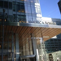 Photo taken at Bank of America Tower by Koutilya R. on 11/26/2012
