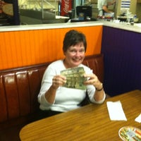 Photo taken at Joes New York Pizza by John R. on 11/29/2012