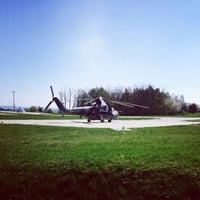 Photo taken at 22. základna letectva Náměšť nad Oslavou by Geisi on 4/10/2017