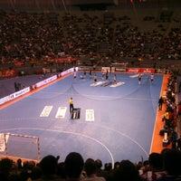Photo taken at Palacio Vistalegre Arena by Angel C. on 12/9/2012