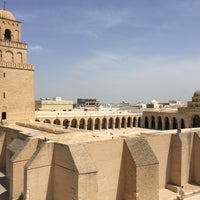 Photo taken at جامع عقبة بن نافع | La Grande Mosquée | Great Mosque of Kairouan by Nastya T. on 4/25/2017