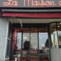 Photo taken at La maison du boudin by Adrien on 1/19/2013