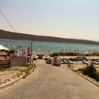 Photo taken at Alaçatı Surf Paradise Club by Onur Z. on 7/16/2013